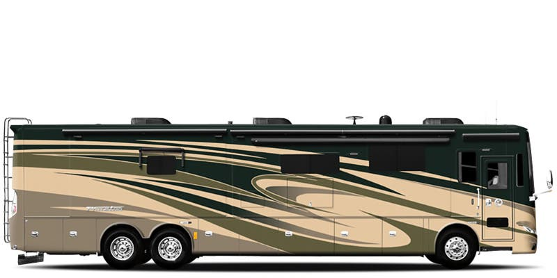 Find Specs for 2017 Tiffin - Phaeton <br>Floorplan: 36 GH (Class A)