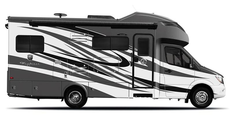 Find Specs for 2019 Tiffin - Wayfarer <br>Floorplan: 24 FW (Class C)
