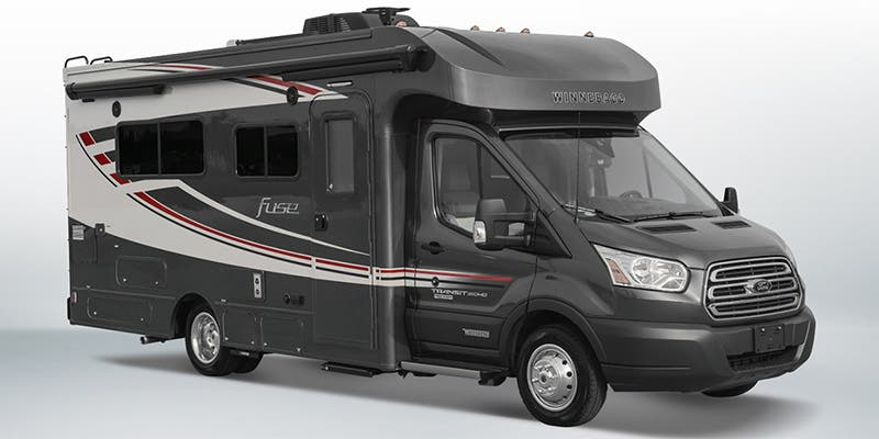 Find Specs for 2017 Winnebago Fuse RVs