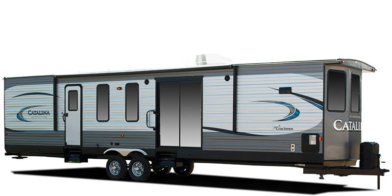 Find Specs for 2018 Coachmen Catalina Destination Destination Trailer RVs
