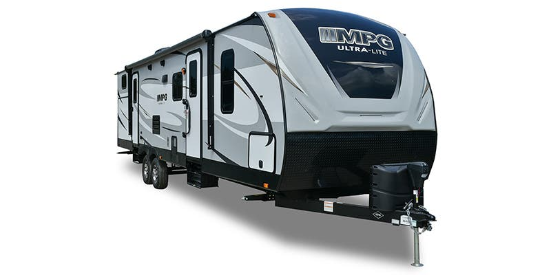 Find Specs for 2019 Cruiser RV - MPG <br>Floorplan: MPG 2750BH (Travel Trailer)