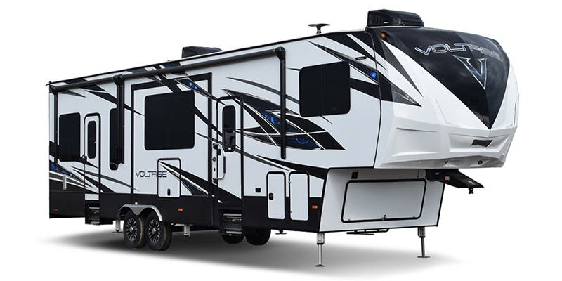 Find Specs for 2018 Dutchmen Voltage Toy Hauler RVs