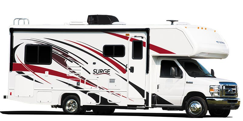 Find Specs for 2018 Fleetwood Surge Class C RVs