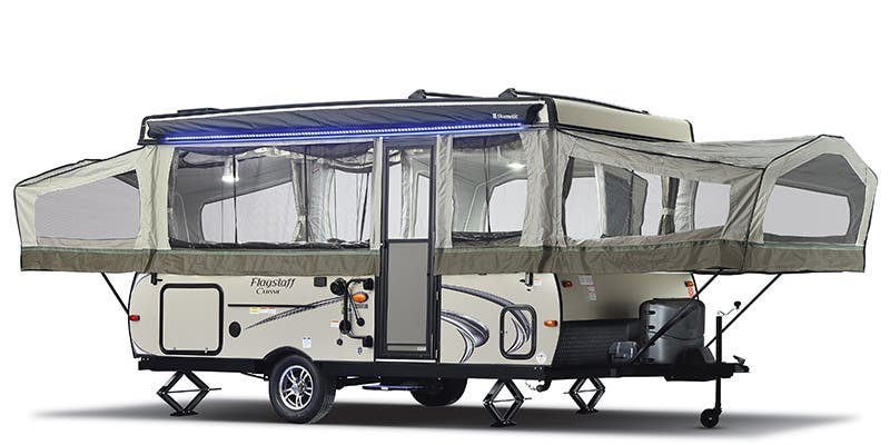 Find Specs for 2018 Forest River Flagstaff Super Lite/Classic Expandable Trailer RVs