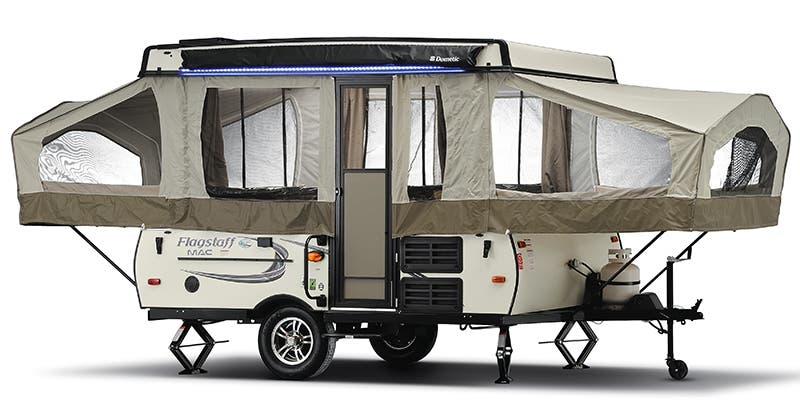 Find Specs for 2018 Forest River Flagstaff Expandable Trailer RVs