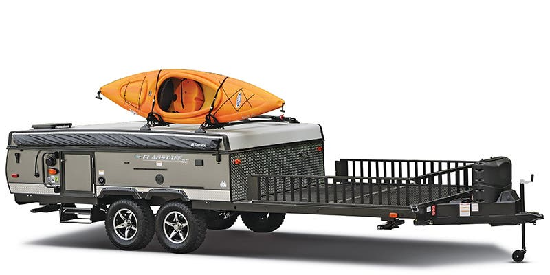 Find Specs for 2018 Forest River Flagstaff Toy Hauler RVs