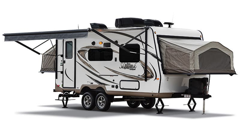 Find Specs for 2018 Forest River Flagstaff Shamrock Toy Hauler RVs