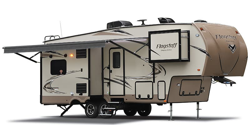 Find Specs for 2018 Forest River Flagstaff Super Lite/Classic Fifth Wheel RVs