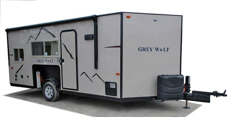 Full specs for 2018 forest river grey wolf 17bb rvs for Grey wolf fish house
