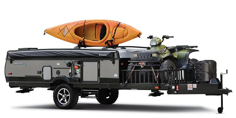 Find Specs for 2018 Forest River Rockwood Toy Hauler RVs