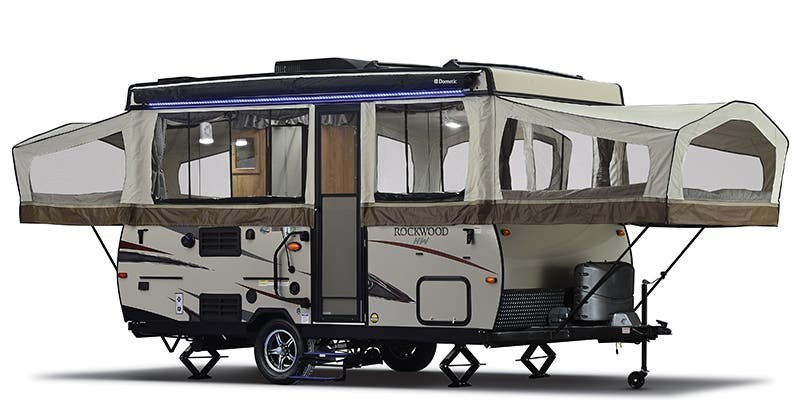 Find Specs for 2019 Forest River Rockwood Expandable Trailer RVs