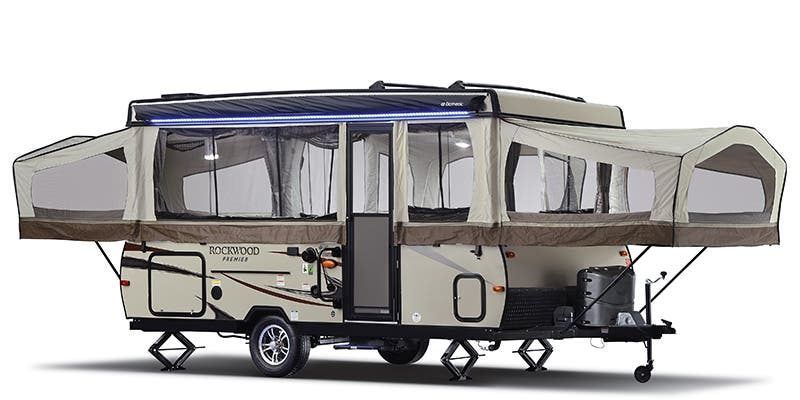Find Specs for 2018 Forest River Rockwood Premier RVs