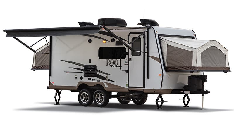 Find Specs for 2018 Forest River Rockwood Roo Toy Hauler RVs