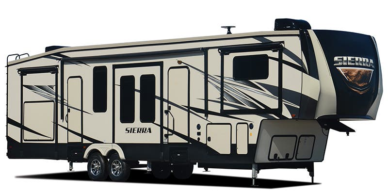 Find complete specifications for Forest River Sierra Fifth Wheel RVs