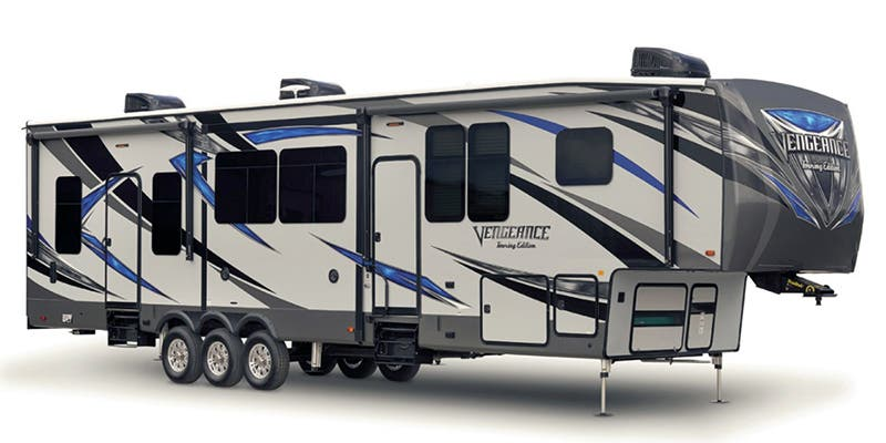 Find Specs for 2018 Forest River Vengeance Touring Edition Toy Hauler RVs