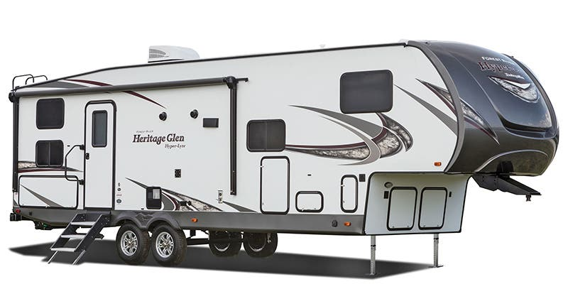 Find Specs for 2018 Forest River Wildwood Heritage Glen Fifth Wheel RVs
