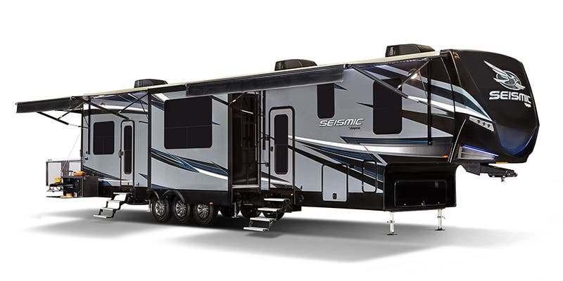 Find Specs for 2018 Jayco Seismic Toy Hauler RVs