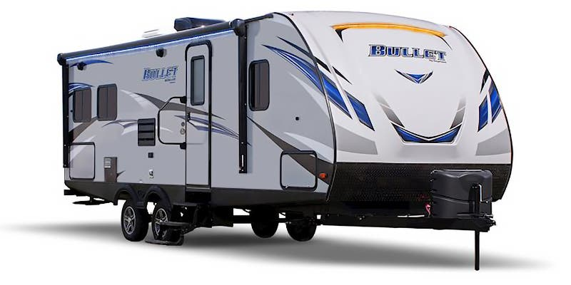 Find Specs for 2018 Keystone - Bullet <br>Floorplan: 277BHSWE (Travel Trailer)