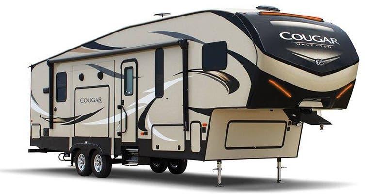 Find Specs for 2019 Keystone Cougar Half-Ton Fifth Wheel RVs