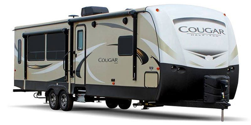 Find Specs for 2019 Keystone - Cougar Half-Ton <br>Floorplan: 26RBS (Travel Trailer)