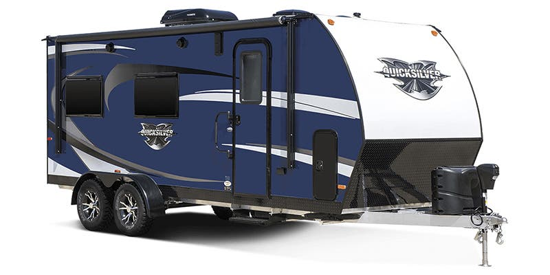Find Specs for 2018 Livin' Lite Quicksilver Toy Hauler RVs