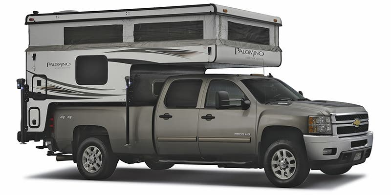 Find Specs for 2019 Palomino Backpack Truck Camper RVs