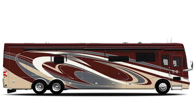 Find Specs for 2018 Tiffin - Allegro Bus <br>Floorplan: 40 SP (Class A)