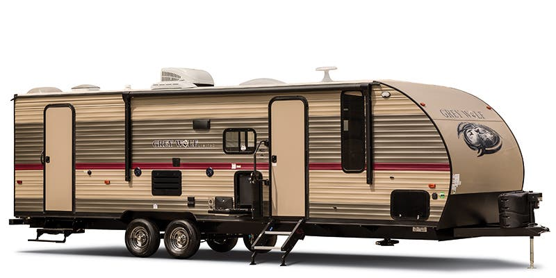 Find Specs for 2019 Forest River Cherokee Grey Wolf Toy Hauler RVs