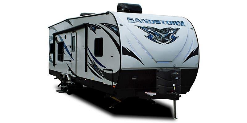 Find Specs for 2019 Forest River Sandstorm Toy Hauler RVs