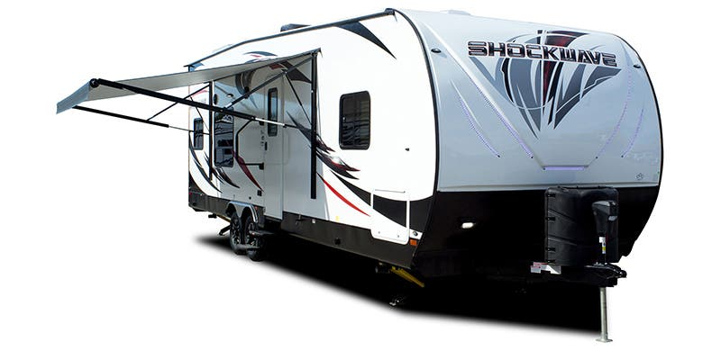 Find Specs for 2019 Forest River Shockwave Toy Hauler RVs