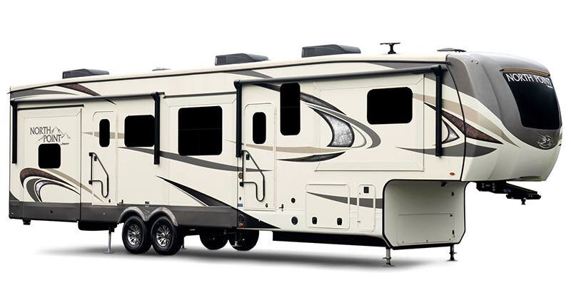 2019 Jayco North Point (Toy Hauler)