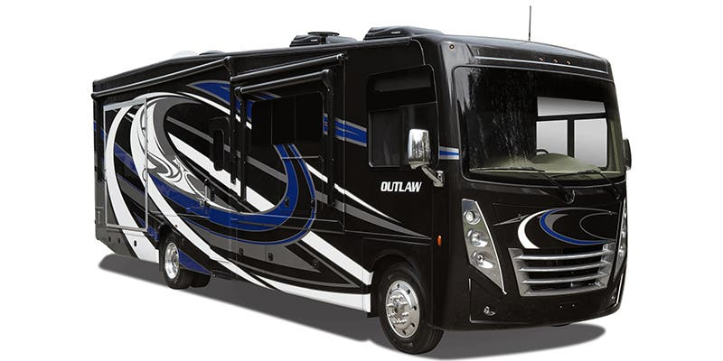 Find Specs for 2020 Thor Motor Coach Outlaw Toy Hauler RVs
