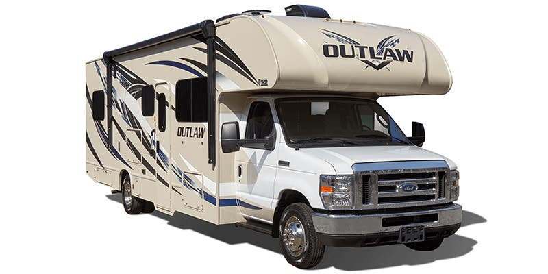 Find Specs for 2019 Thor Motor Coach Outlaw Toy Hauler RVs