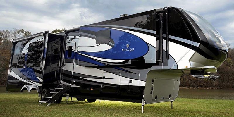 Find Specs for 2020 Vanleigh - Beacon <br>Floorplan: 39 GBB (Fifth Wheel)