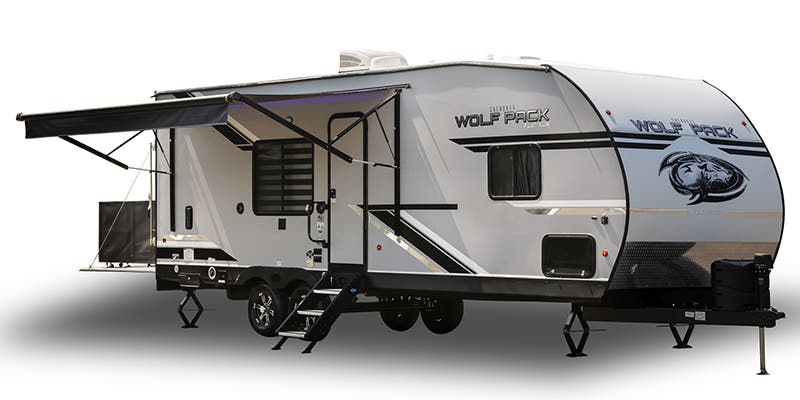 Find Specs for 2020 Forest River Cherokee Wolf Pack Toy Hauler RVs
