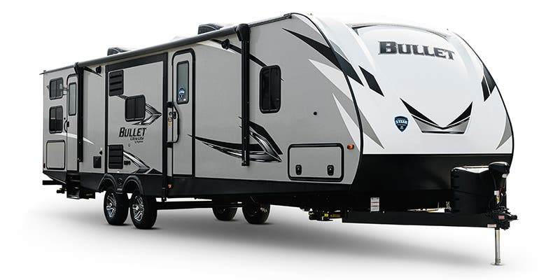 Find Specs for 2020 Keystone - Bullet <br>Floorplan: 287QBSWE (Travel Trailer)