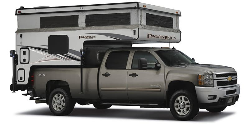 Find Specs for 2020 Palomino Backpack Truck Camper RVs
