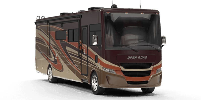 Find Specs for 2020 Tiffin - Open Road Allegro <br>Floorplan: 36 UA (Class A)