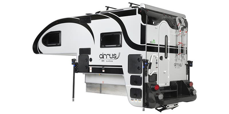 Find Specs for 2021 NuCamp Cirrus Truck Camper RVs