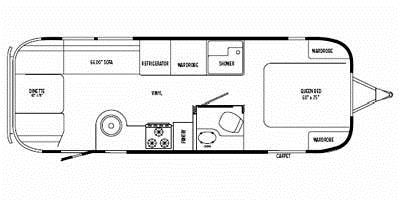 Find Specs for 2008 Airstream - International Signature <br>Floorplan: 27FB (Travel Trailer)