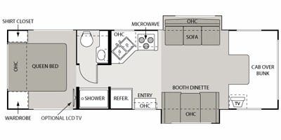 full specs for 2008 four winds international 5000 29r rvs. Black Bedroom Furniture Sets. Home Design Ideas