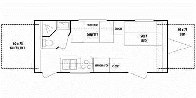 full specs for 2008 k z coyote 19cr rvs. Black Bedroom Furniture Sets. Home Design Ideas