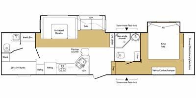 2008 Keystone Copper Canyon Specs Floorplans