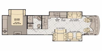 2011 Fleetwood Discovery Specs Floorplans