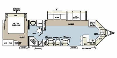 full specs for 2013 forest river rockwood windjammer 3008w Wind Jammer Rv Wiring Diagram rockwood wiring schematics list of