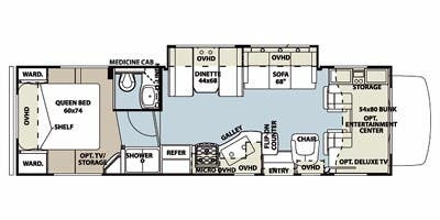 Full specs for 2013 forest river sunseeker 3100ss rvs rvusa find specs for 2013 forest river sunseeker brfloorplan 3100ss class cheapraybanclubmaster Choice Image