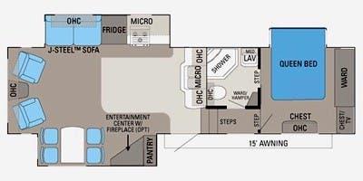 2011 Jayco Eagle Super Lite Specs & Floorplans | Jayco RV ... on