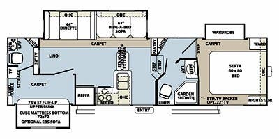 Find Specs for 2013 Forest River - Rockwood Signature Ultra Lite <br>Floorplan: 8281WS (Fifth Wheel)