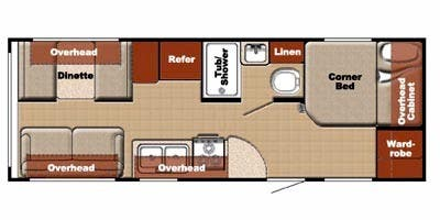 Find Specs for 23BW RVs
