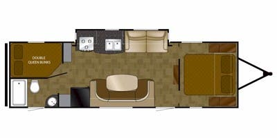 Full Specs For 2015 Heartland North Trail Nt 28brs Rvs